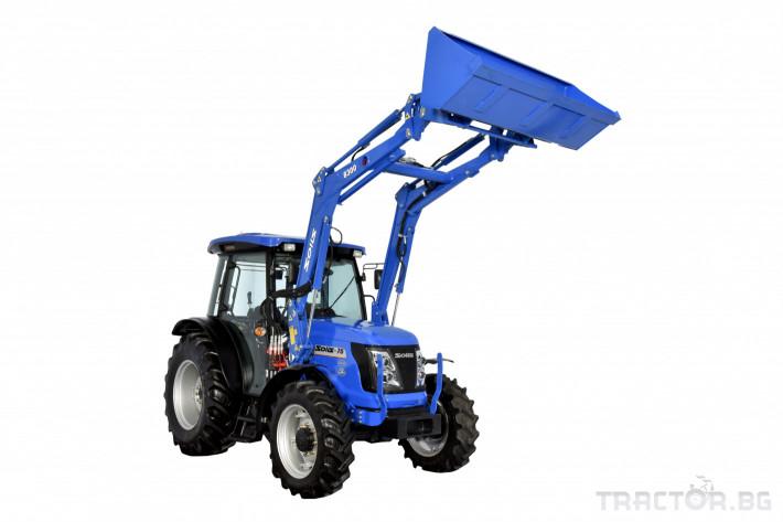 Трактори Solis УНИВЕРСАЛЕН ТРАКТОР SOLIS S90 CAB 5 - Трактор БГ