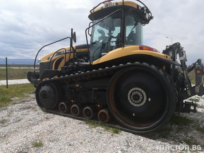 Трактори Challenger Употребяван трактор MT855E 4 - Трактор БГ