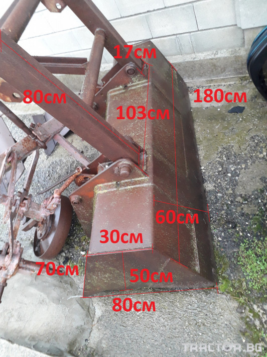 Части за трактори Други Метална кофа за трактор 0 - Трактор БГ