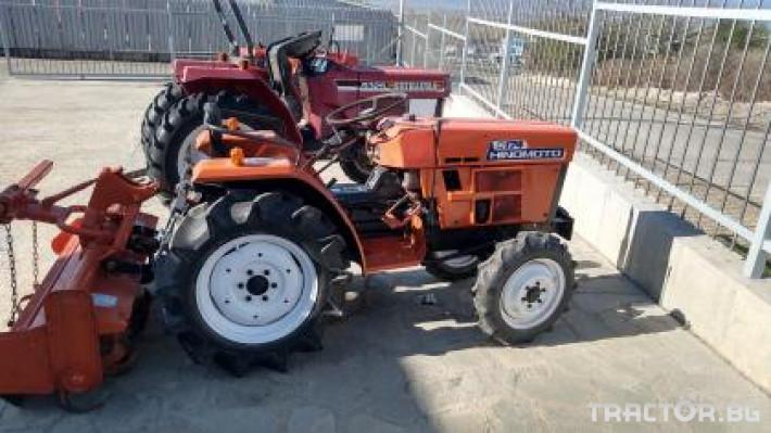 Трактори Hinomoto C174 0 - Трактор БГ