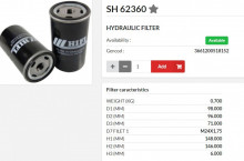 HIFI FILTER SH62360