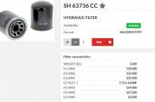 HIFI FILTER SH63736CC