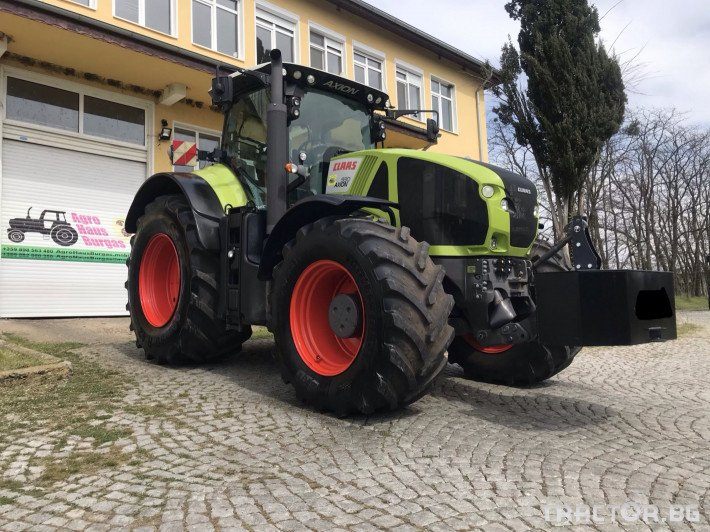 Трактори Claas AXION 930 CEBIS CMATIC НАВИГАЦИЯ ЛИЗИНГ 0 - Трактор БГ