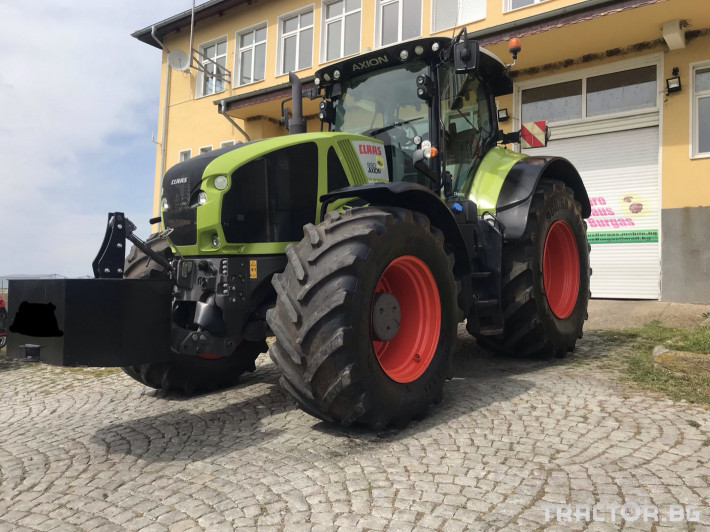 Трактори Claas AXION 930 CEBIS CMATIC НАВИГАЦИЯ ЛИЗИНГ 2 - Трактор БГ