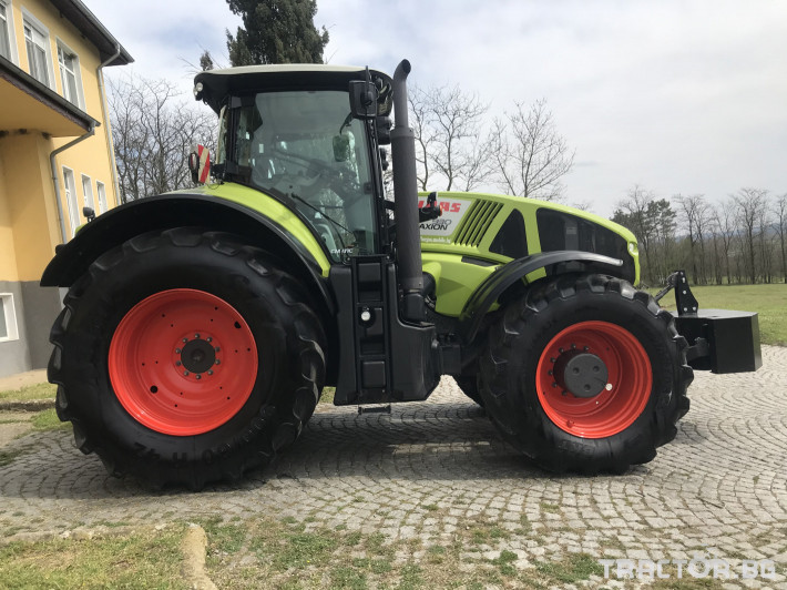 Трактори Claas AXION 930 CEBIS CMATIC НАВИГАЦИЯ ЛИЗИНГ 8 - Трактор БГ
