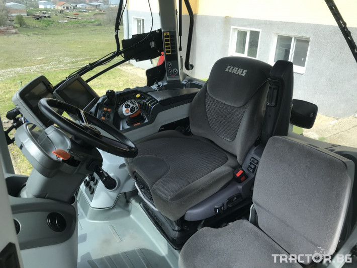 Трактори Claas AXION 930 CEBIS CMATIC НАВИГАЦИЯ ЛИЗИНГ 12 - Трактор БГ