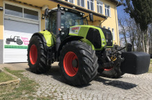 Claas AXION 850 CEBIS НАВИГАЦИЯ ЛИЗИНГ - Трактор БГ