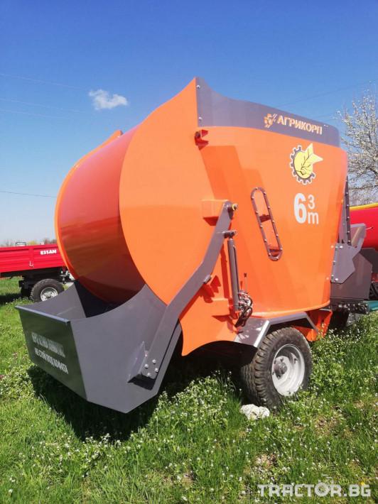 Машини за ферми Смесител (миксер) за фураж 2 - Трактор БГ
