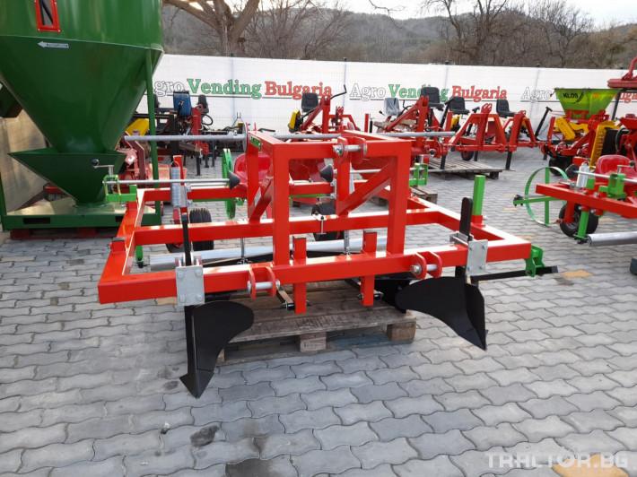 Машини за зеленчуци Машина за полагане на мулч 2 - Трактор БГ