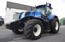 New-Holland T8.410 Ultra Command - Трактор БГ