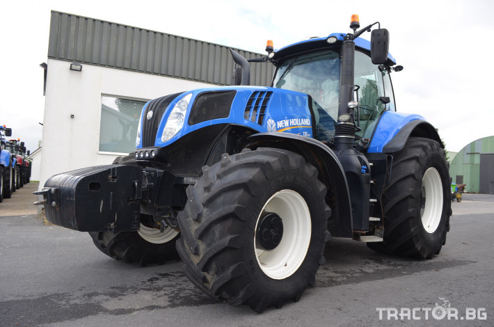 Трактори New-Holland T8.410 Ultra Command 0 - Трактор БГ