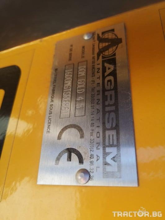 Брани Agrisem DOM Gold 4.5 6 - Трактор БГ