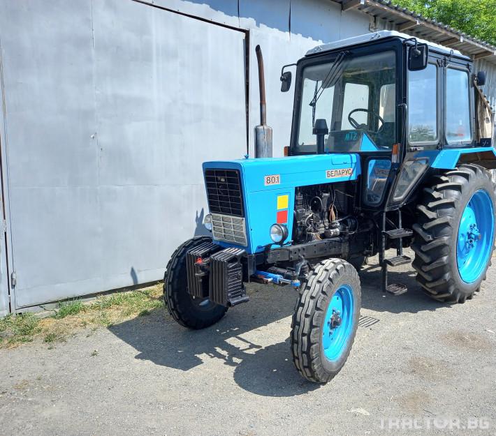 Трактори Беларус МТЗ 80.1 1 - Трактор БГ