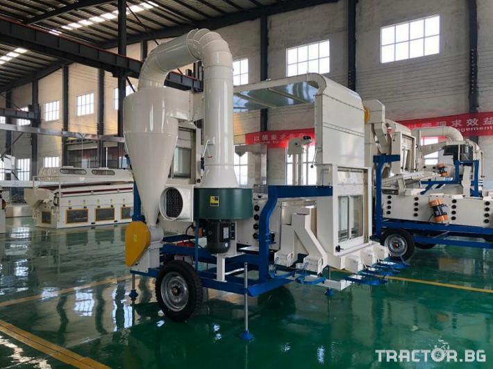 Обработка на зърно Машина за почистване и калибриране на семена 3 - Трактор БГ
