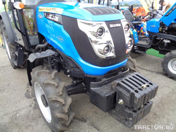 Трактори Лозаро-овощарски трактор SOLIS N90 CAB 11 - Трактор БГ