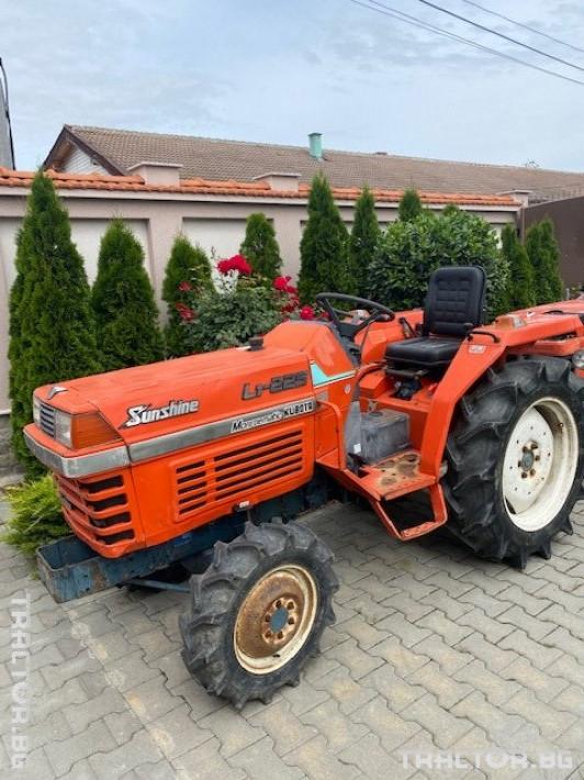 Трактори Kubota L1-225 0 - Трактор БГ