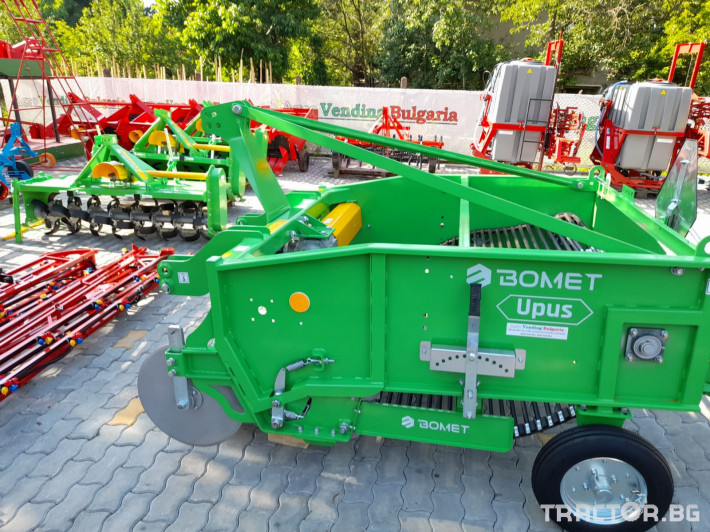 Машини за зеленчуци Двуредовикартофовадачки 9 - Трактор БГ