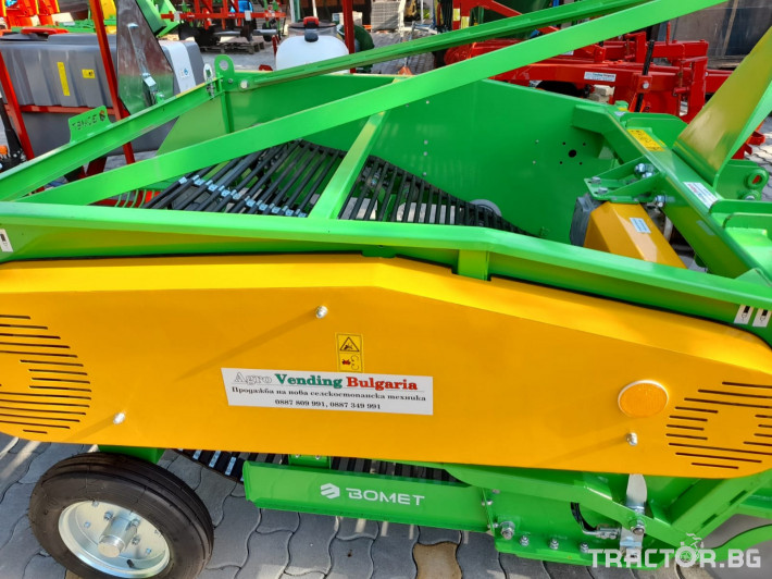 Машини за зеленчуци Двуредовикартофовадачки 12 - Трактор БГ