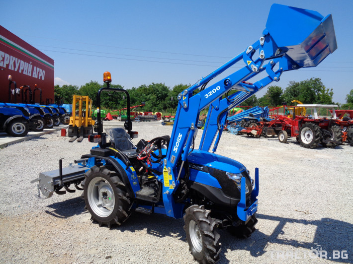 Трактори Малогабаритен трактор SOLIS S20 PORS 20 - Трактор БГ
