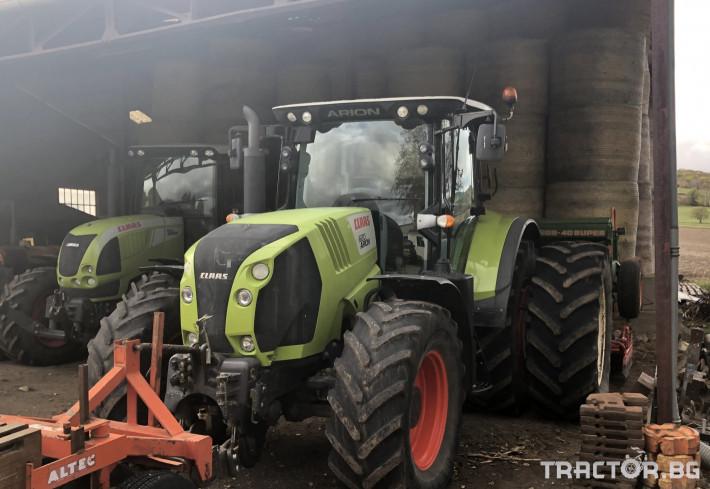 Трактори Трактор CLAAS модел ARION 620 CIS T3b 1 - Трактор БГ