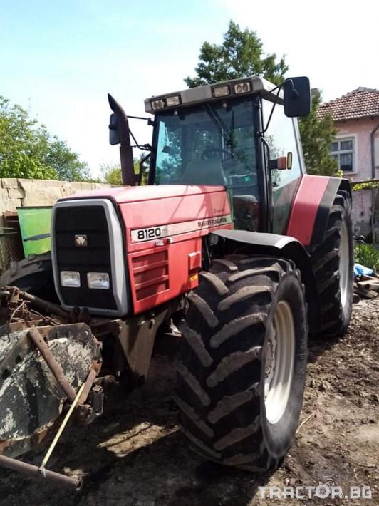 Трактори Massey Ferguson 8120 3 - Трактор БГ