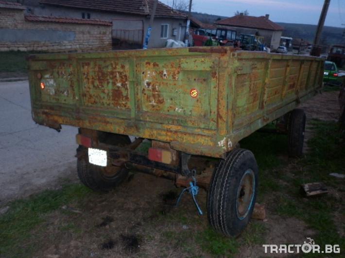 Ремаркета и цистерни Български РСД 4Т 4 - Трактор БГ