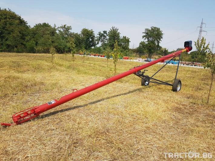 Обработка на зърно Зърнотоварач  8м10/12м, ф165/200/230мм 0 - Трактор БГ