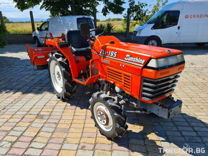 Трактори Kubota 195 1 - Трактор БГ