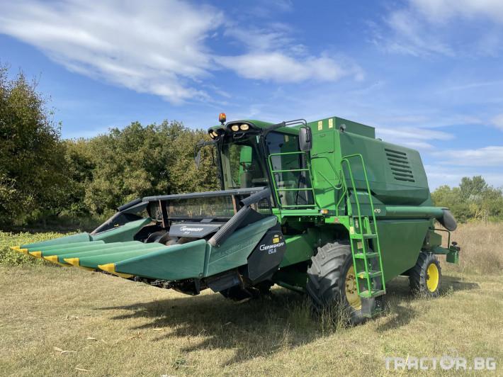 Комбайни John-Deere 1470 1 - Трактор БГ